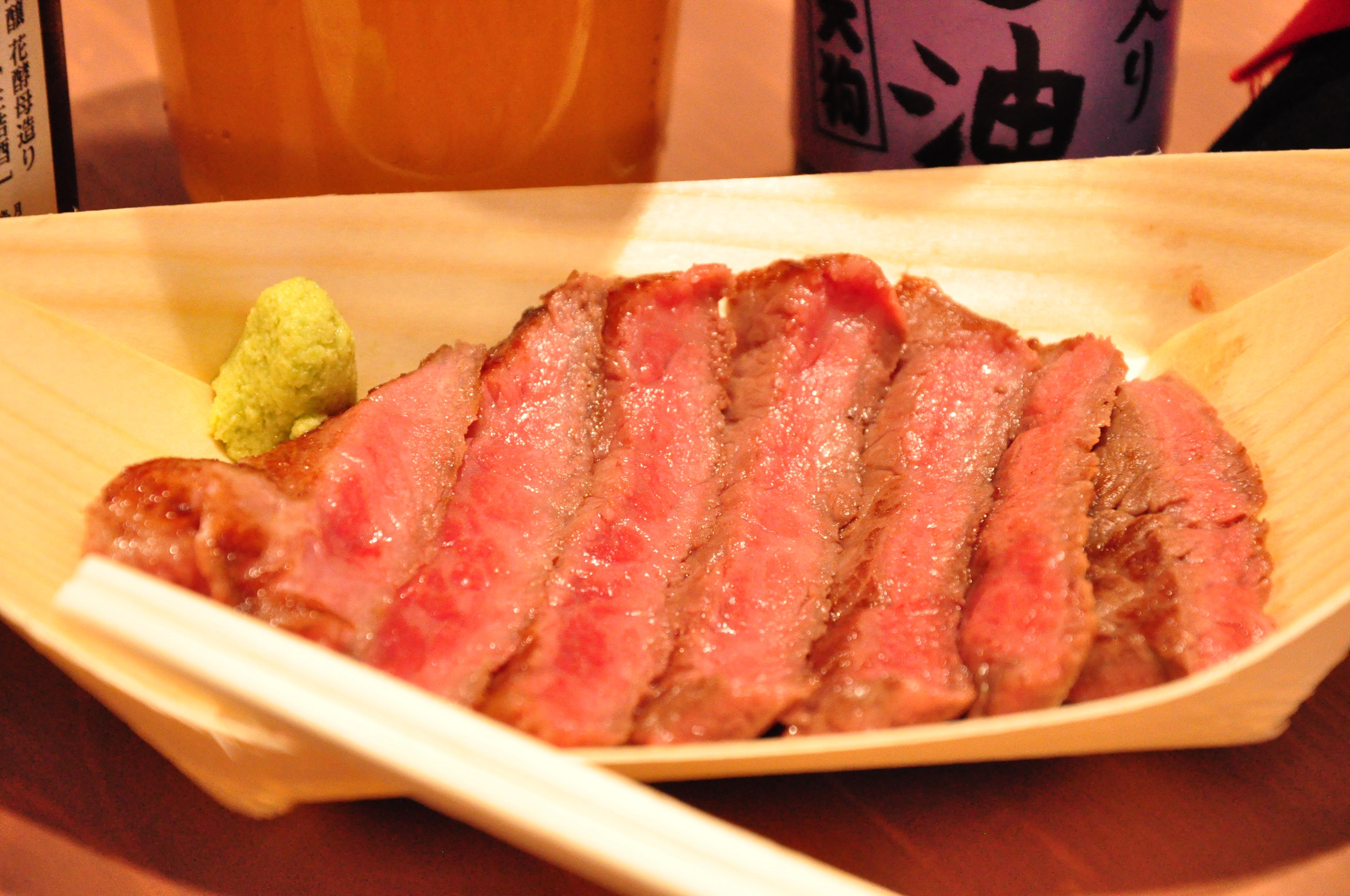 食べ歩きステーキ各種